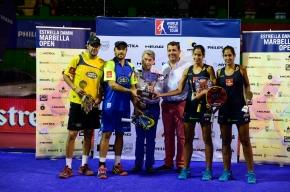 Câştigătorii WorldPadelTour din Marbella2014