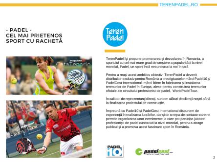 Prezentare TerenPadel.ro - Construcţii terenuri. Echipamente sportive. Organizare competiţii2