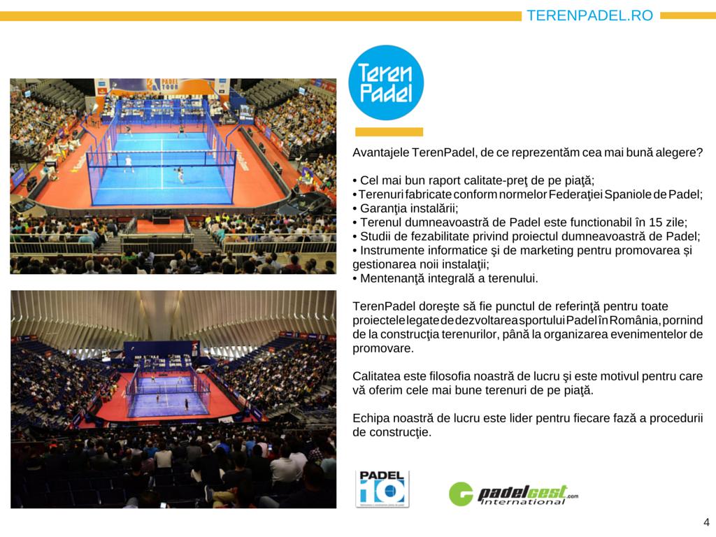 Prezentare TerenPadel.ro - Construcţii terenuri. Echipamente sportive. Organizare competiţii4