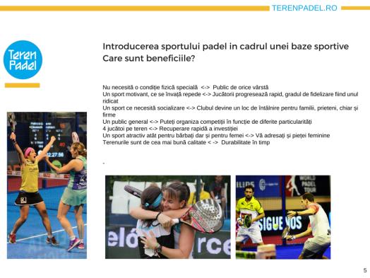 Prezentare TerenPadel.ro - Construcţii terenuri. Echipamente sportive. Organizare competiţii5