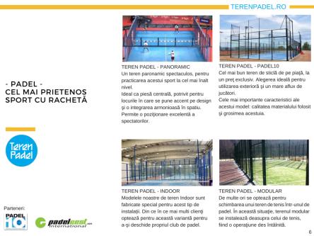 Prezentare TerenPadel.ro - Construcţii terenuri. Echipamente sportive. Organizare competiţii6