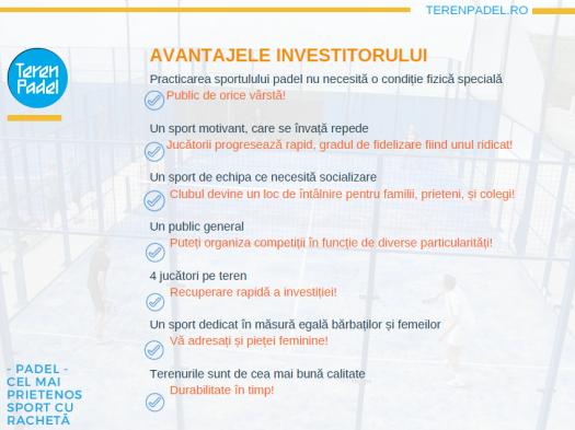 Avantajele investitorului