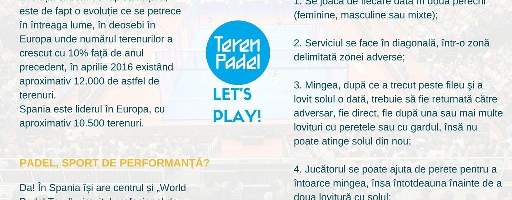 Teren Padel Romania