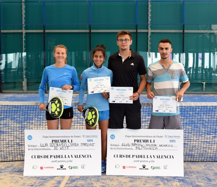 winners padel Universities
