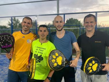 echipa padel Zarnesti